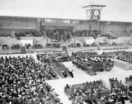 Opening ceremony at Memorial Arena