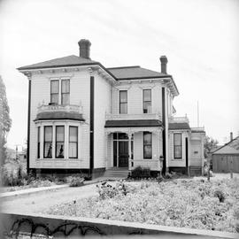 James & Mary Muirhead family home at 603 Esquimalt Road at the corner of Robert Street