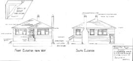 Residence for W.A. Armstrong of Vic., BC, to be built on Quebec St on Lot 561, Victoria City