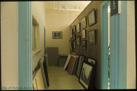 Hallway, City Archives, 613 Pandora Avenue