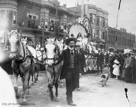 Victoria Day Parade on Douglas Street at Yates Street