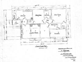 Residence to be built for A. Harding by J.L. Punderson and Co., architects & builders, cor. F...