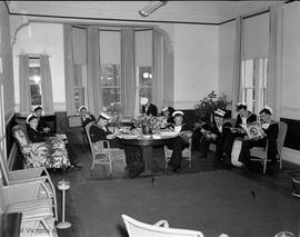 Sailors relaxing at Prince Robert House lounge