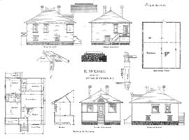Building to be erected for F.A. Thompson