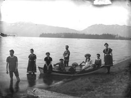 Boating group (Vancouver?)