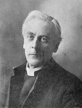 Canon Beanlands, Dean of Christ Church Cathedral (married Sophia Pemberton)