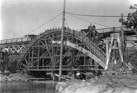 Gorge Bridge under construction