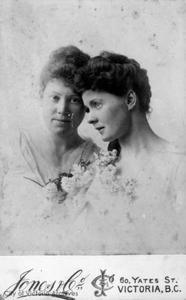 Maude and Nellie (Ellen) Cridge