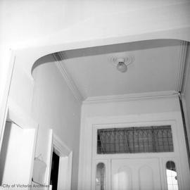 "Thomas Trounce family home at 436 Michigan Street known as ""Tregew"", hall ceiling"