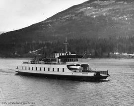 Ferry Anscomb on Kootenay Lake