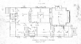[Plan for single family dwelling]
