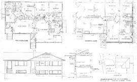 Plans of duplex for Mr. H. Heighes