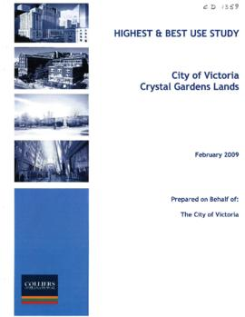Crystal Gardens lands : highest and best use study