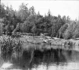 """Hatley Park"", James and Laura Dunsmuir residence, Japanese gardens"