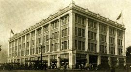 Hudson's Bay Company building on Douglas Street