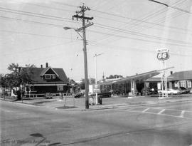 285 Superior Street. Pacific 66 gas station