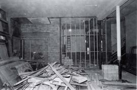 1 Centennial Square. Assessors area and hallway in City Hall during renovations at time of Centen...