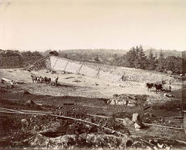 Construction of the Smith Hill Reservoir