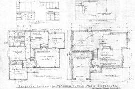 Proposed residence for Mr. & Mrs. G.H. West, Cook Street, Victoria, B.C.