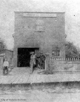 Sweeney's second cooperage at 172 Johnson Street from 1895-1912