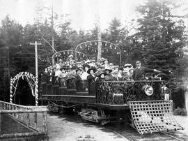 Observation car in Gorge Park