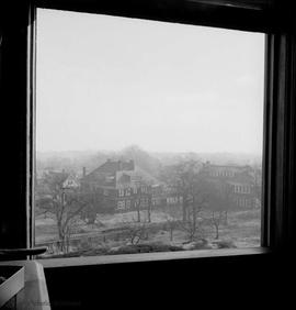 "View from B.W. Pearse family home at 1618 Fort Street known as ""Fernwood"" looking towar..."