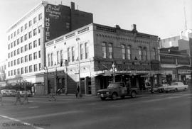 1402-1406 Douglas Street. St. James Hotel on left