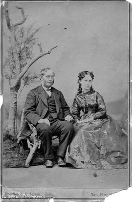 Captain Herbert George Lewis and Mrs. Mary Lewis (nee Langford)
