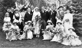 Lucy Anna Little and Norman T. Williamson wedding