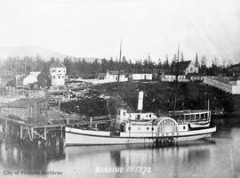 "Ship ""Maud"" in Nanaimo"
