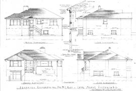 Proposed residence for Mr. & Mrs. C. Rau, Cook Street, Victoria, B.C.