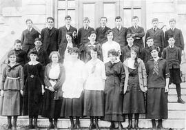 Victoria High School class photo