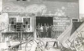 Ontario Wagon and Carriage Shop, 82 Johnson Street