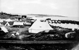 Fifth Regiment Camp at Macaulay Point