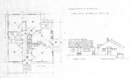 Proposed residence of R Haggard Esq., corner Hillside and Blackwood, Victoria, B.C.