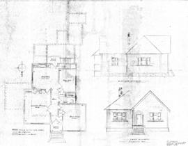 [Alterations to one-storey house with basement]