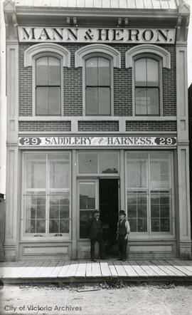 Mann & Heron, Saddlery and Harness Shop, 29 Broad Street