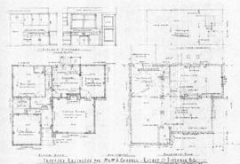 Proposed residence for Mr. & Mrs. A. Cambell [sic], Rithet St., Victoria, B.C.