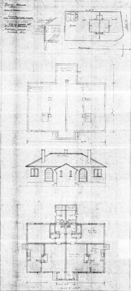 Duplex dwelling for Gordon A. Cameron, located S.W. corner, Pentrelew & Fort Sts.