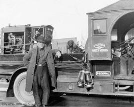 City of Victoria's first truck