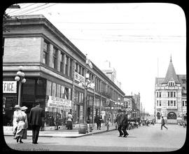 View Street, Bantam's recruiting station (in Arcade Building, left)