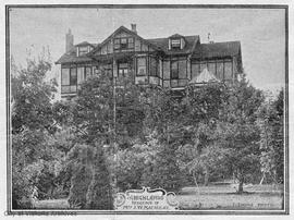 """The Highlands"", 1636 Rockland Avenue. J.W. Macaulay residence"