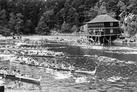 First Nations canoe races on the Gorge