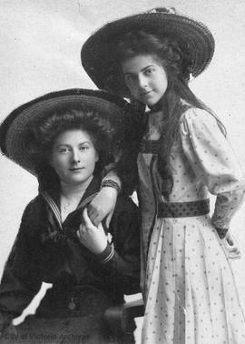 Marguerite and Lucy Little