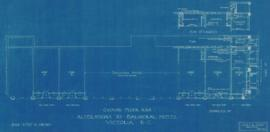 Ground floor plan : alterations to Balmoral Hotel, Victoria, B.C.