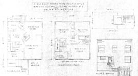 A six room house to be built on Lot 20, Map 971A, 1215 Hillside Ave., Victoria, B.C., for Walter ...