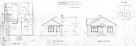 Proposed residence, frame [sic] & stucco, for Mr. Bruce, situated at Burdette [sic] Av., Victoria, B.C.