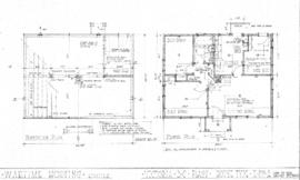 Wartime Housing Limited : Victoria, B.C. : plans : house type H 22A