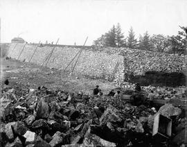 Construction of the Smith Hill Reservoir, Nov 7, 1908