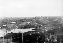 Panoramic view of Victoria Harbour